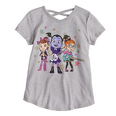 Girls 4-10 Jumping Beans® Vampirina, Poppy & Bridget Crossback Glitter Graphic Tee
