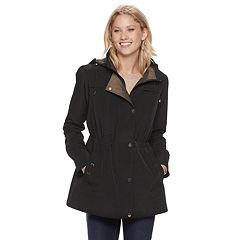 Women's Gallery Hooded Button Out Anorak Jacket