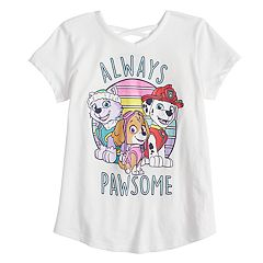 Girls 4-10 Jumping Beans® 'Always Pawsome' Everest, Skye & Marshall Crossback Graphic Tee