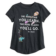Girls 4-10 Jumping Beans® Dr. Suess Glittery Graphic Tee