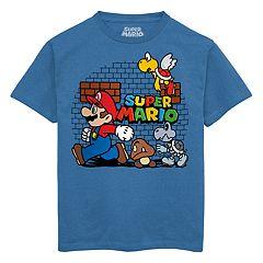 f6913a16e14d0d Boys 8-20 Super Mario Bros. Tee