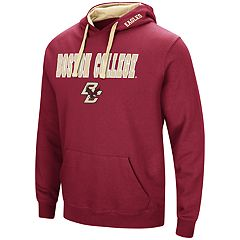 Men's Boston College Eagles Pullover Fleece Hoodie