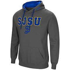 Men's San Jose State Spartans Pullover Fleece Hoodie