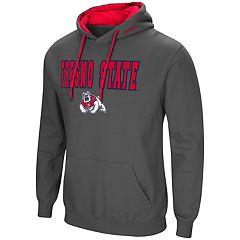 Men's Fresno State Bulldogs Pullover Fleece Hoodie