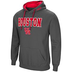 Men's Houston Cougars Pullover Fleece Hoodie
