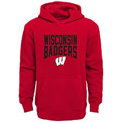 Boys 8-20 Wisconsin Badgers Flux Hoodie