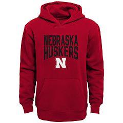 Boys 4-18 Nebraska Cornhuskers Flux Hoodie