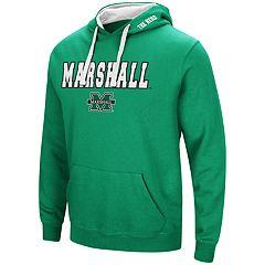 Men's Marshall Thundering Herd Pullover Fleece Hoodie