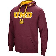 Men's Minnesota - Duluth Bulldogs Pullover Fleece Hoodie