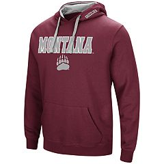 Men's Montana Grizzlies Pullover Fleece Hoodie
