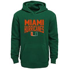 Boys 4-18 Miami Hurricanes Flux Hoodie