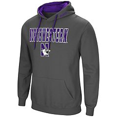 Men's Northwestern Wildcats Pullover Fleece Hoodie