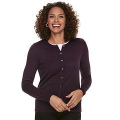 Women's Croft & Barrow Essential Cardigan Sweater