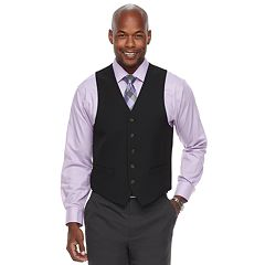 Men's Chaps Classic-Fit 4-Way Stretch Suit Vest