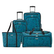 American Tourister Solana 4-Piece Spinner Luggage Set + $10 Kohls Cash
