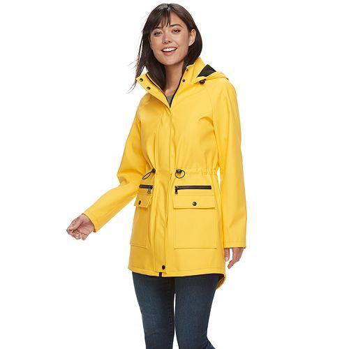 Women's Sebby Collection Anorak Rain Jacket