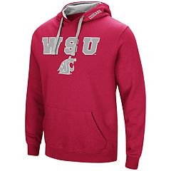 Men's Washington State Cougars Pullover Fleece Hoodie