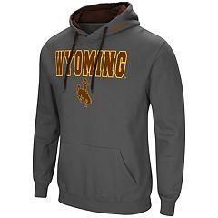 Men's Wyoming Cowboys Pullover Fleece Hoodie