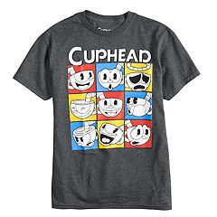Boys 8-20 Cuphead Expressions Tee