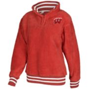 Women's Wisconsin Badgers Sherpa Pullover