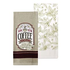 Food Network™ Coffee Patch Kitchen Towel 2-pack