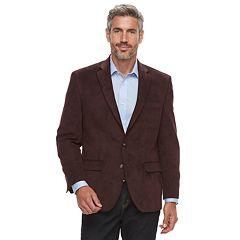 Men's Chaps Classic-Fit Suede Sport Coat