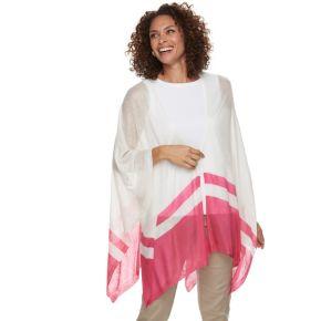 Women's Chaps Colorblock Ruana