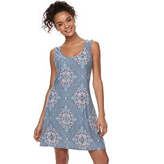 Juniors' Mudd® Back Crisscross Dress