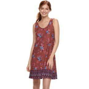 Juniors' Mudd® Back Crisscross Dress