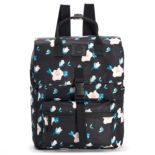 T-Shirt & Jeans Floral Large Square Backpack