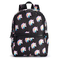 T-Shirt & Jeans Animal Printed Large Dome Backpack
