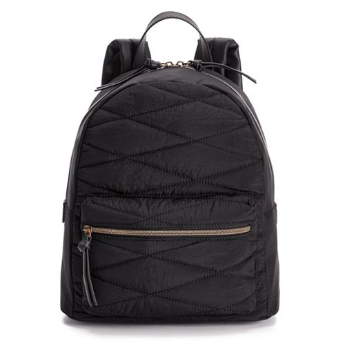 T-Shirt & Jeans Quilted Backpack
