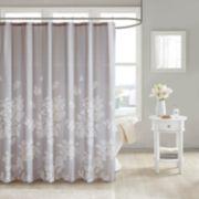 Madison Park Arlena Printed Shower Curtain
