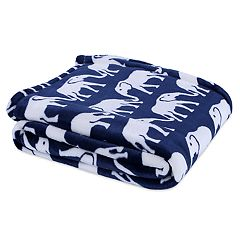 Better Living Velvety Soft Elephant Throw