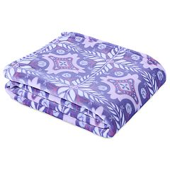 Better Living Velvety Soft Bright Bohemian Throw