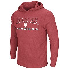 Men's Indiana Hoosiers Thermal Hooded Tee
