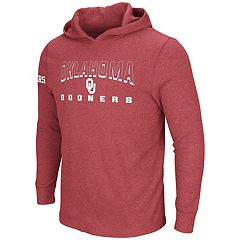 Men's Oklahoma Sooners Thermal Hooded Tee