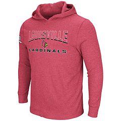 Men's Louisville Cardinals Thermal Hooded Tee