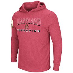 Men's Maryland Terrapins Thermal Hooded Tee