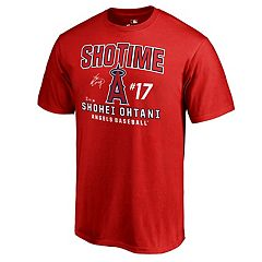 Men's Majestic Los Angeles Angels of Anaheim Shohei Ohtani 'Shotime' Tee