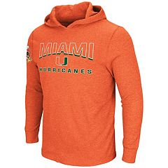 Men's Miami Hurricanes Thermal Hooded Tee