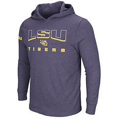 Men's LSU Tigers Thermal Hooded Tee