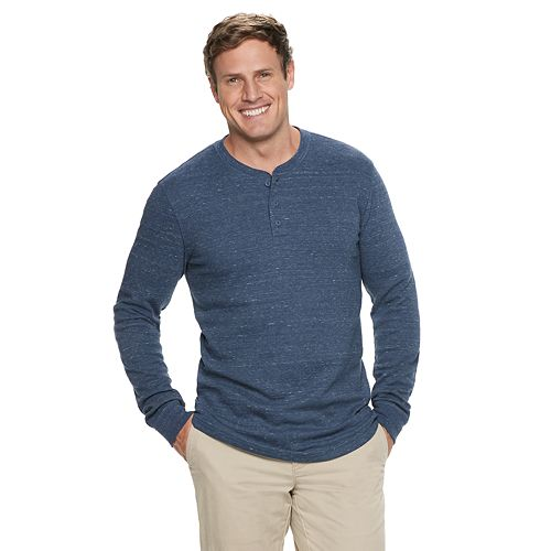 Big & Tall SONOMA Goods for Life™ Supersoft Thermal Henley