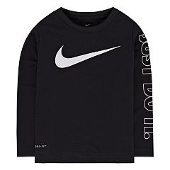 Toddler Boy Nike Swoosh Waffle Knit Top