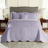 Croft & Barrow® Mary Solid Bedspread or Sham