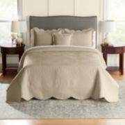 Croft & Barrow® Solid Bedspread & Sham