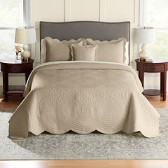 Croft & Barrow® Solid Bedspread or Sham