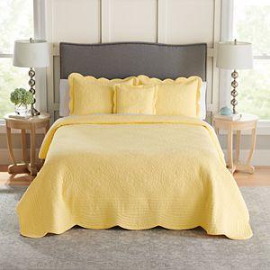 Croft & Barrow® Mary Solid Bedspread or Sham