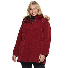 Plus Size Gallery Hooded Anorak Jacket
