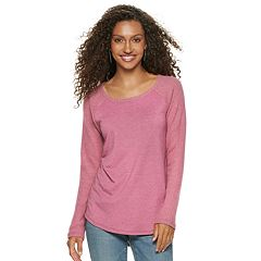 Women's SONOMA Goods for Life™ Supersoft Textured Raglan Tee